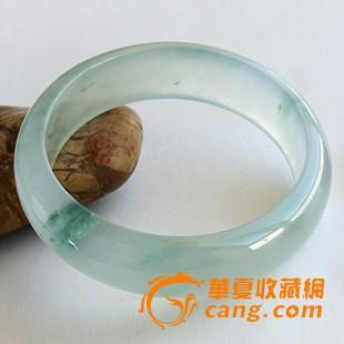 玻璃种飘花翡翠手镯 缅甸翡翠图1-在线竞价-图片|图库|价格