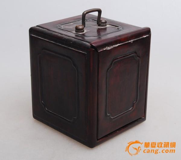 民国老红木首饰盒图1-在线竞价-图片|图库|价格