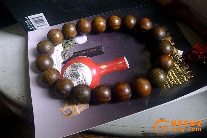 檀香木雕刻佛珠图1-在线竞价-图片|图库|价格