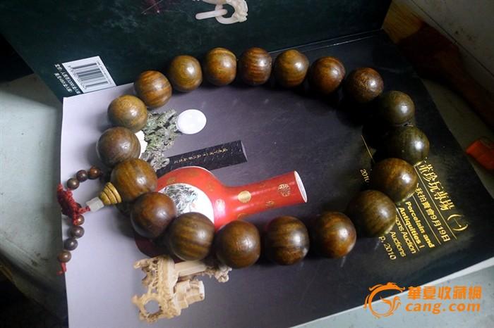 檀香木雕刻佛珠