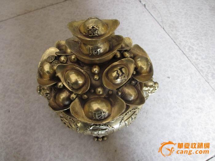 铜招财铜香炉图1-在线竞价-图片|图库|价格