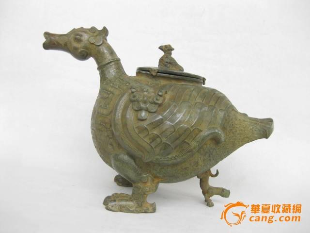 战国青铜鸟尊图1-在线竞价-图片|图库|价格