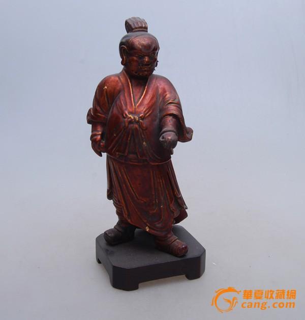 清代木雕人物像图1-在线竞价-图片|图库|价格