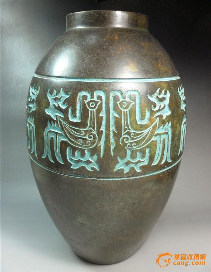 民国滕峰款铜罐图1-在线竞价-图片|图库|价格