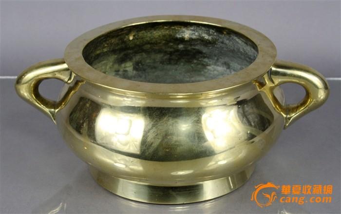 清代精品重器超大号宣德铜炉图1-在线竞价-图片|图库|价格