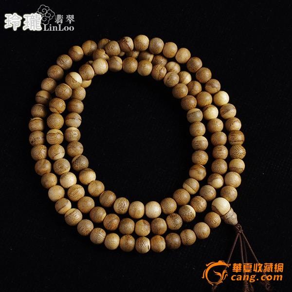 越南芽庄活结沉香木佛珠108粒(9mm)-ai04