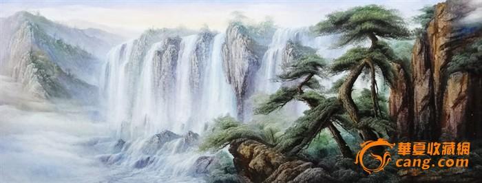 纯手绘 刀笔风景油画209