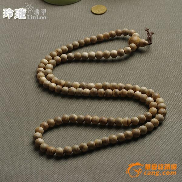 越南芽庄活结沉香木佛珠108粒(10mm)-aj05