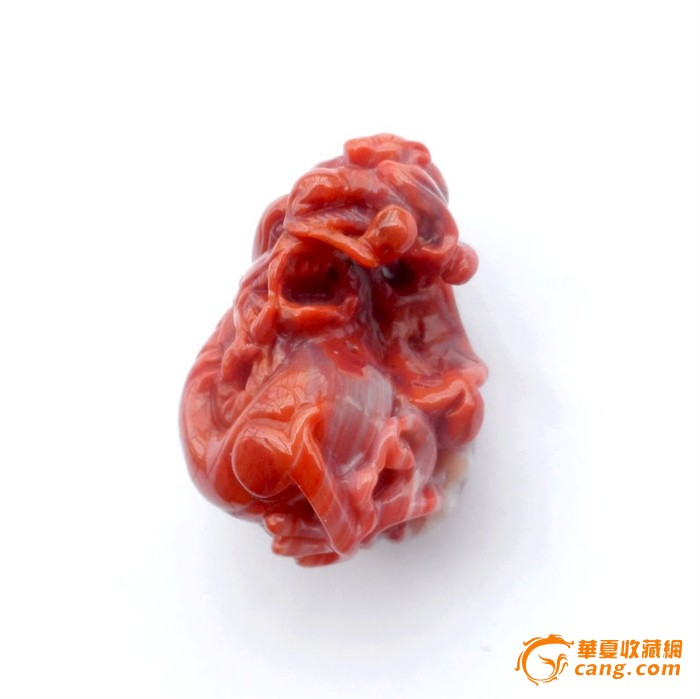 【精品】凉山南红财源广进手玩件