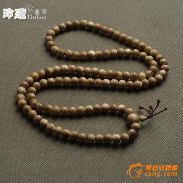 越南惠安蜜香活结沉香木108佛珠(10mm)-al35