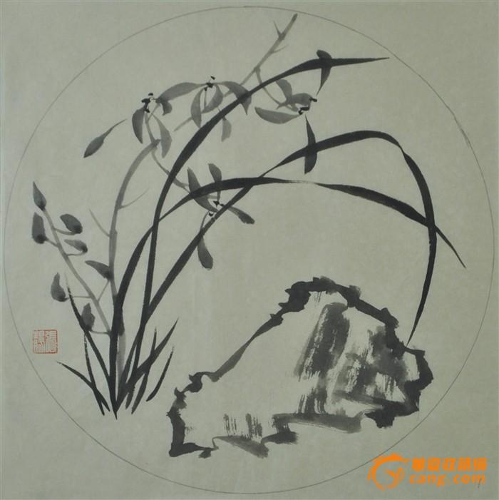 圆面兰花5