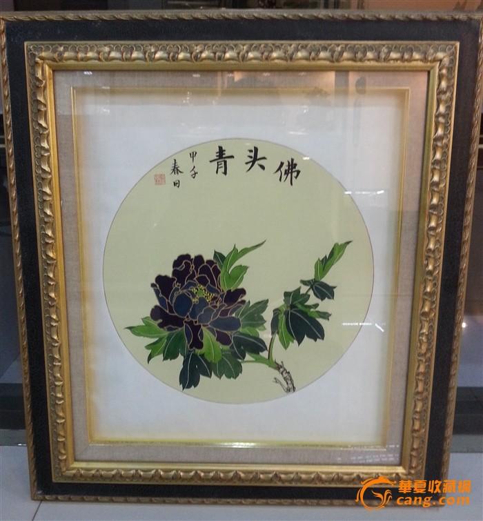 中国传统元素图案佛头