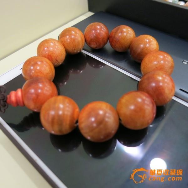 【保真】帝王血龙木佛珠手钏