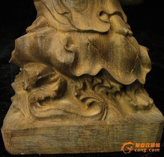 越南沉香木观音菩萨_在线拍卖