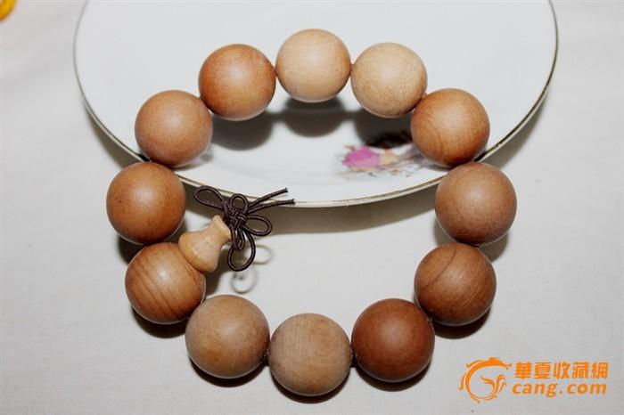 印度天然檀木精品佛珠手串