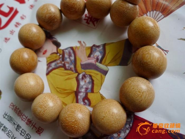 印尼金丝黄金檀木佛珠手链手串男士情侣款 一串拍卖  产自非洲印尼,颗
